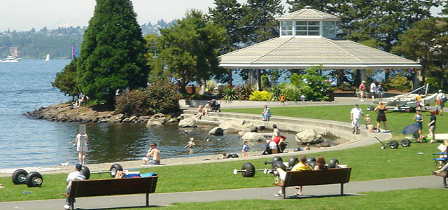 Waterfront Kirkland Washington State