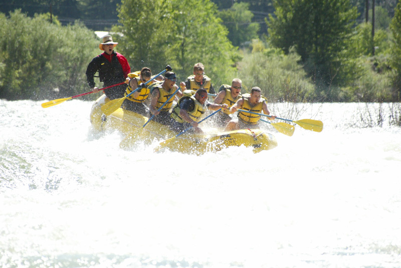 Alpine Adventures White Water Rafting on the Cascade Loop in Washington State