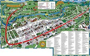 Visit Leavenworth Locals Map