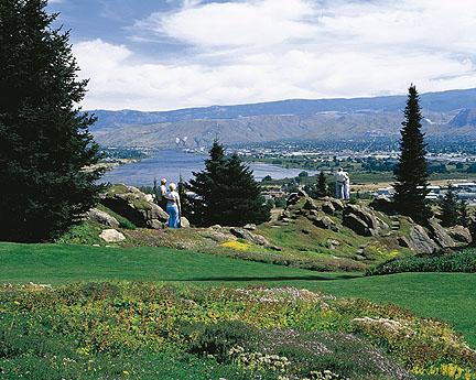 Ohme Gardens in Wenatchee Washington