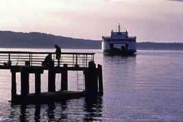 Ferry boat in Washington State