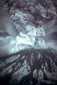 Eruption of Mt. St. Helens Washington Volcanoes
