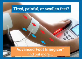 Tired, Painful, or Swollen Feet? Check out the Advanced Foot Energizer