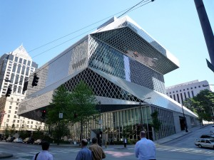 Seattle Central Library by Bobak Ha'Eri (Own work) [CC BY 3.0 (http://creativecommons.org/licenses/by/3.0)], via Wikimedia Commons