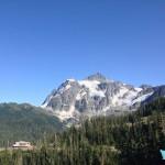 Mt. Baker Ski Area lodge & Mt. Shuksan