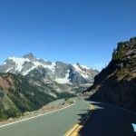 Road to Artist Point - shuksan view