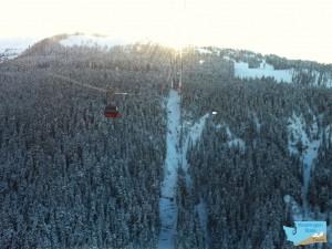 peak-to-peak gondola in Whistler BC