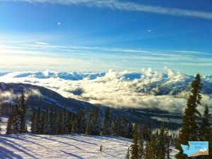 Whistler British Columbia ski area View