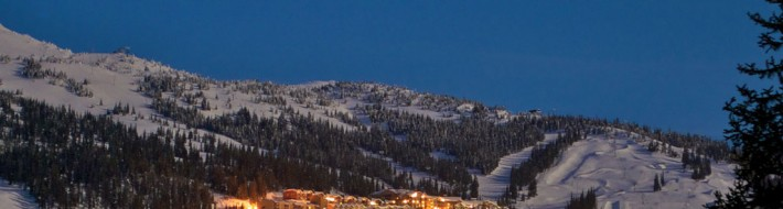 """Village at Night"" by Paul Cotton - Photo Credit: 'Big White Ski Resort'"