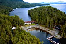 Eagle Nook Resort on Vancouver Island British Columbia Canada