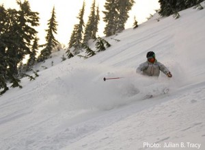 Stevens Pass Upper Meadows photo by Julian Tracy