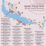 Chelan Wine Map