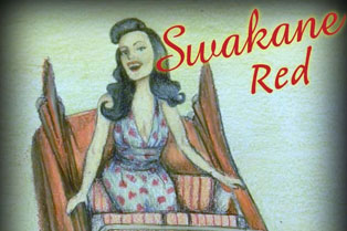 Swakane Winery label from their Sakane Red wine