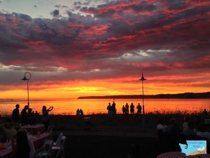 Semiahmoo Bay Sunset c Kevin Unruh