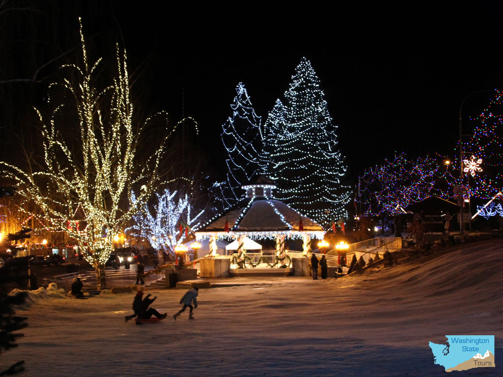 leavenworth washington christmas lighting festival washington state tours