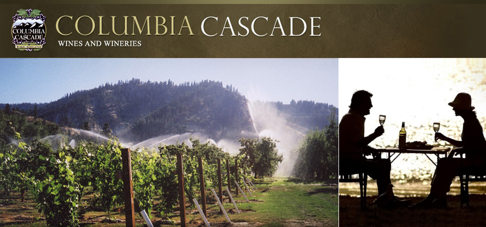 Columbia Cascade Wines and Wineries Header