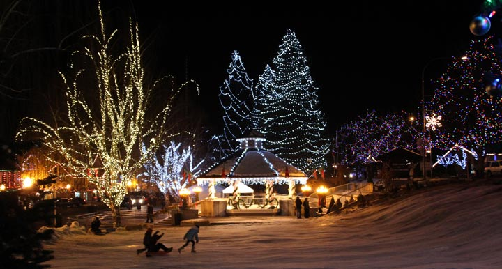 the magic of winter in leavenworth washington