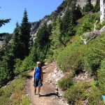 Ptarmigan Ridge trail